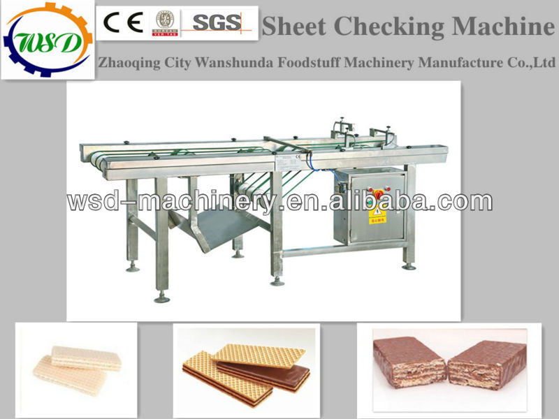 Sheet inspection machine in wafer line