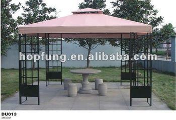 3x3 double roof metal outdoor gazebo buy 3x3 gazebo double roof
