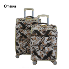 PU Leather First Grade 360 Degree Movable Laptop Holder Trolley Case, Noiseless Rollers Bag