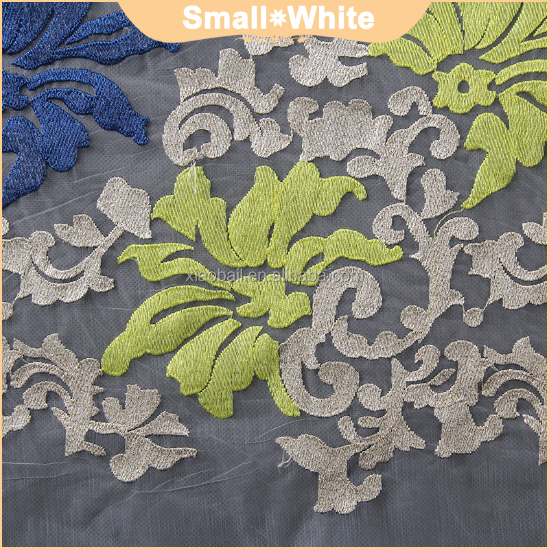 China Lace Market of Colorful Customize 3d Flower Lace Trimming