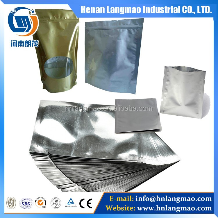 Embossed printed aluminium lid heat seal aluminium foil for k-cup packaging