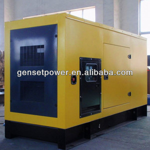 70kw to 400kw Water Cooled 50hz Diesel Power Silent Generator 250v