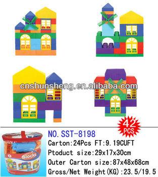 Brick House Toy Concrete Block Brick Making Machine Kids Block House