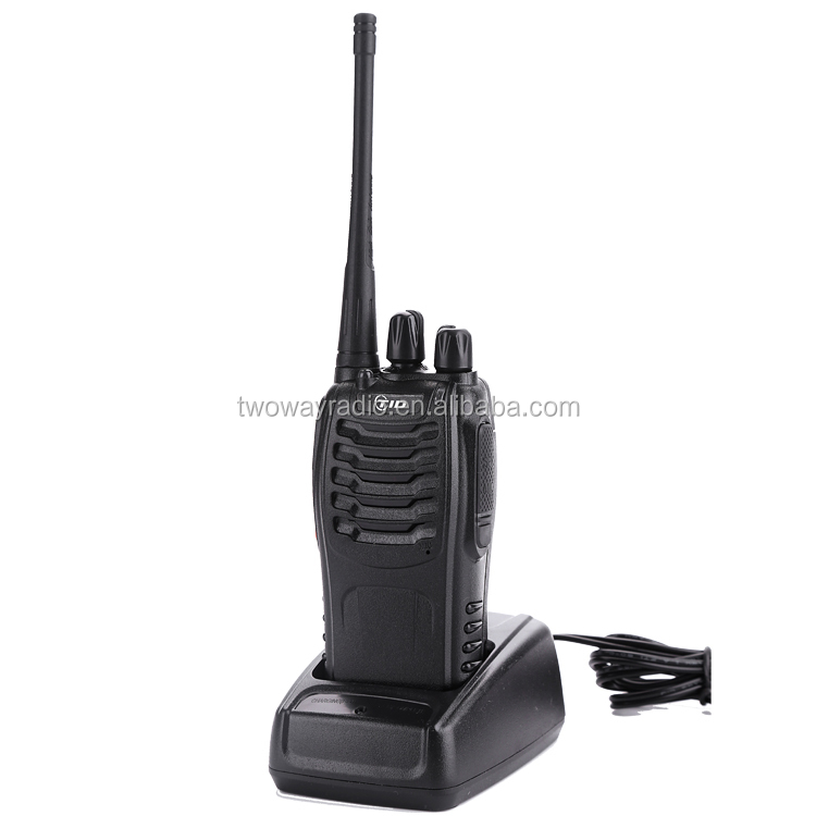 UHF 400-470MHz pc programming 5 watts fm transceiver