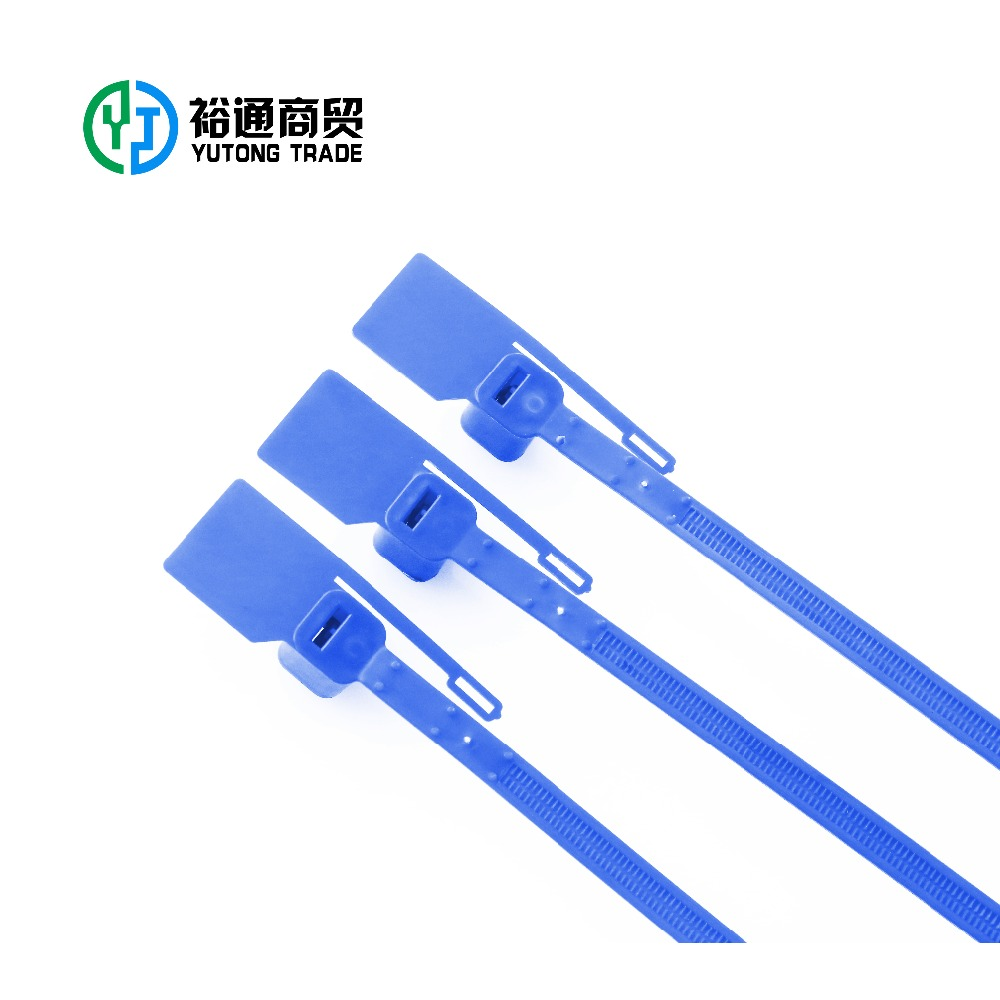 YT-PS501 rubber pull tight plastic seal, plastic seal cable tie