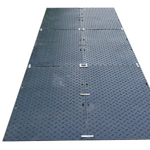 Anti-slip HDPE Road mat Ground protection mat/HDPE plastic trackway panel/road Anti-skid polyethylene engineering