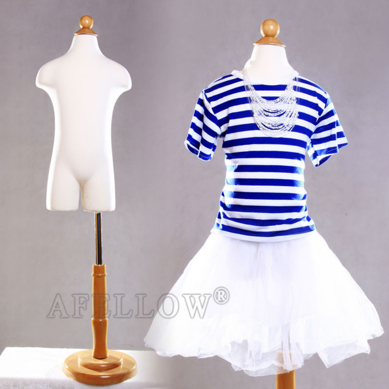M0017-11C4T Children mannequin teenagers cloth display model wooden dummy