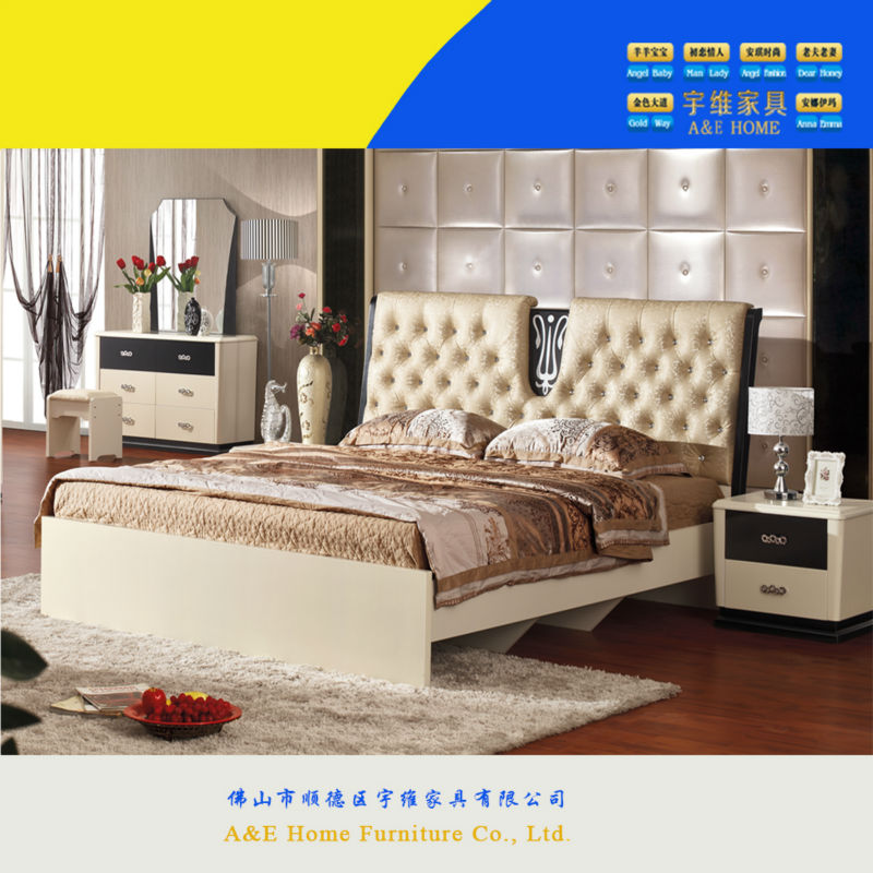 Cheap Good Quality Furniture: Shunde Good Quality Popular Cheap Mdf Panel Sexy Bedroom