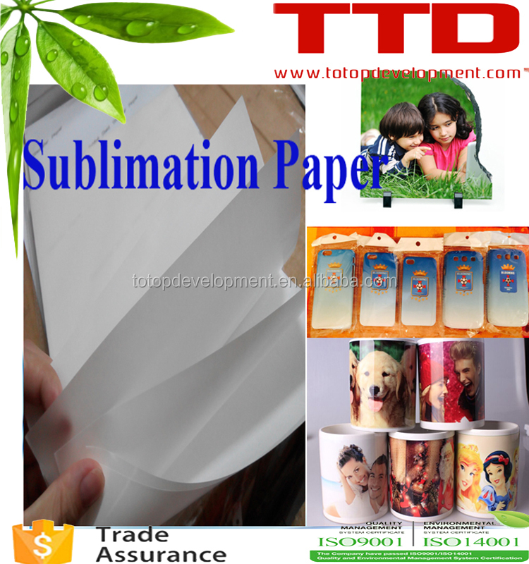 3d sublimation transfer printing paper A4 A3 wholesale price , free sample