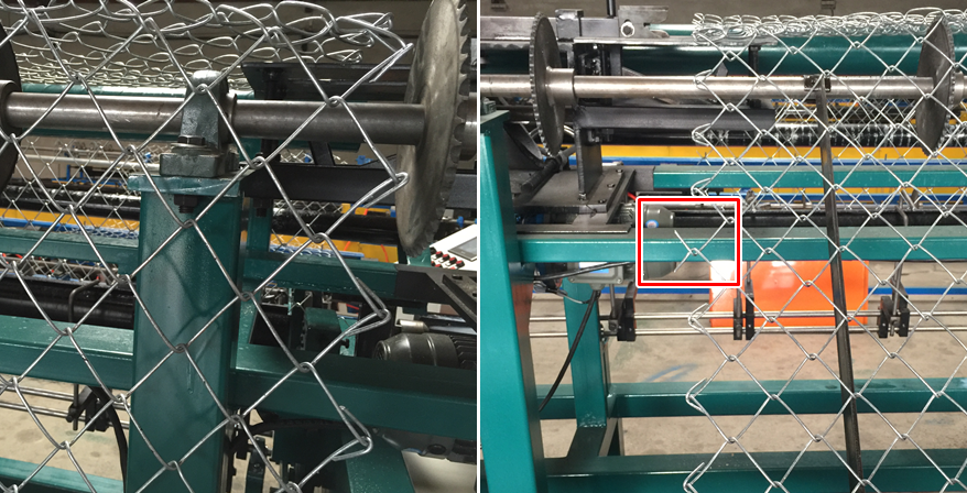 Diameter 1.4mm - 5.0mm Weaving Breadth Chain Link Fence machine