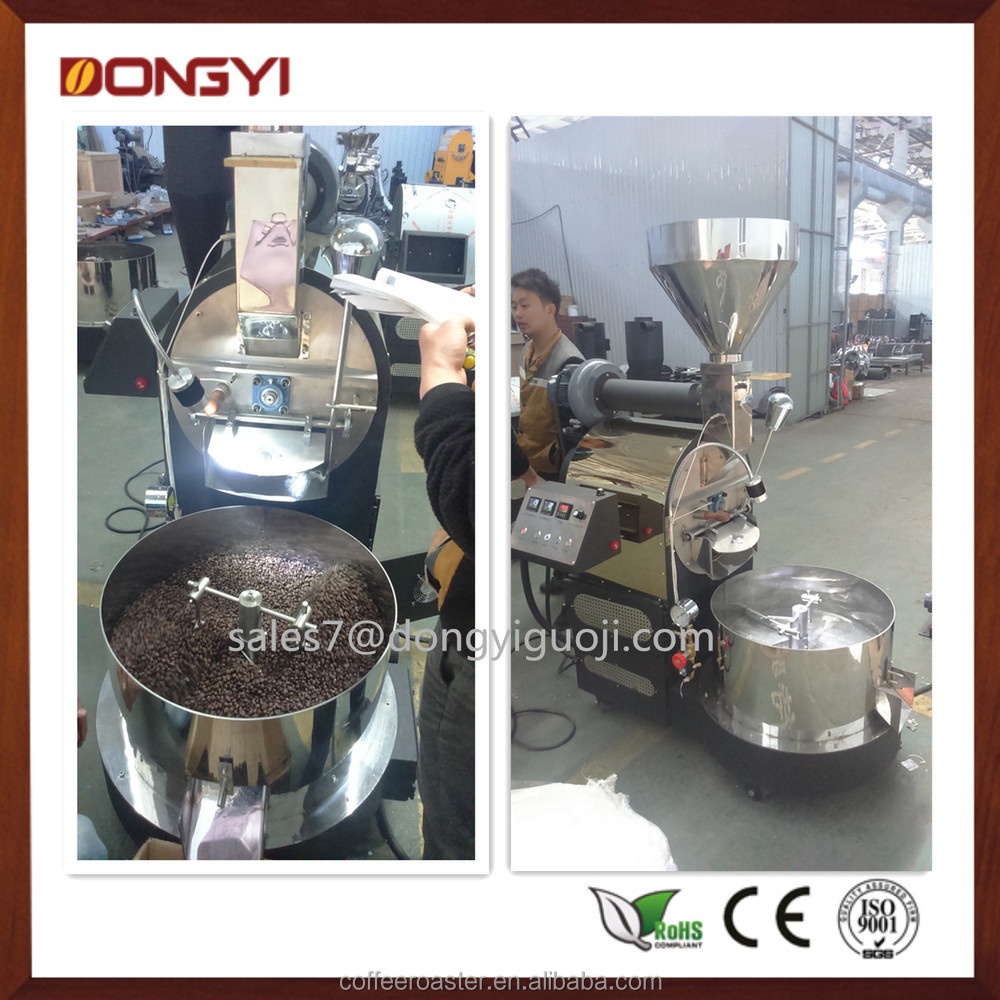 Factory 6kg Commercial Roasting Machine Coffee Roaster Electric ...