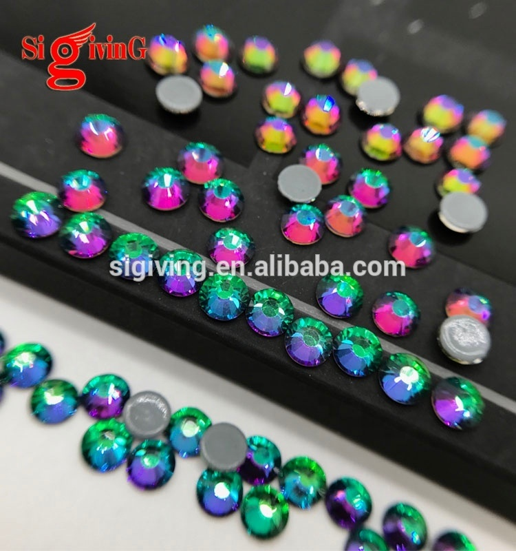 Fancy Bling Krystal nail dmc hotfix motif designs bulk