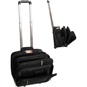 hot sale wheeled laptop roller business office briefcase trolley travel bag