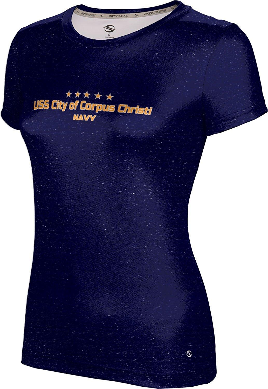 ProSphere Girls' USS City of Corpus Christi Military Heather Shirt (Apparel)