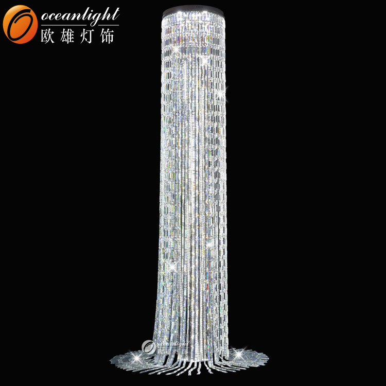 lamps real standing of best light chandelier crystal ebay lamp floor crystals with