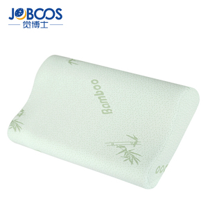 Cheap Comfort Bamboo Memory Foam Pillow For Neck Pain Relief Slow Rebound