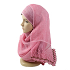 2017 Fashion hijab beautiful Ladies shawl of New hot selling TR cotton lace scarf for muslim scarf