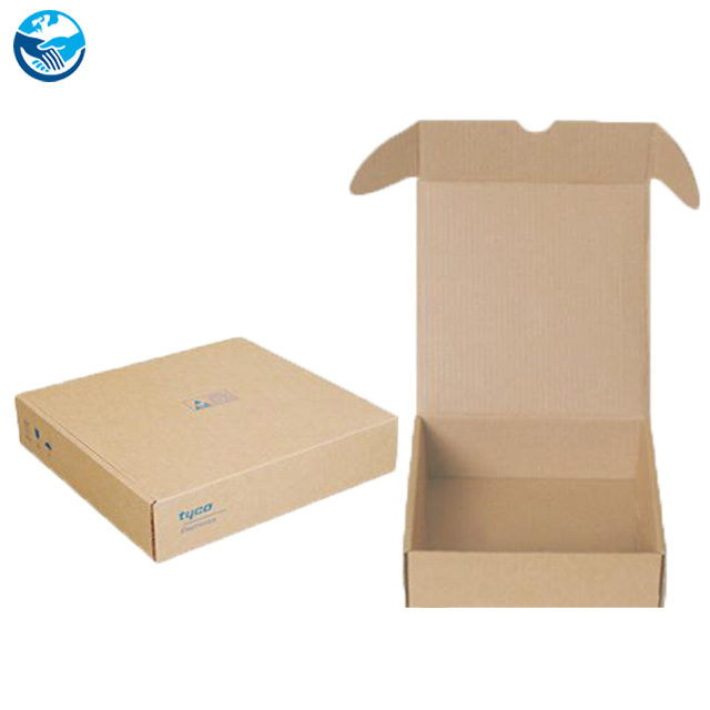 custom transport gift pizza food cake brown kraft paper corrugated cardboard lunch shipping packaging boxes with window