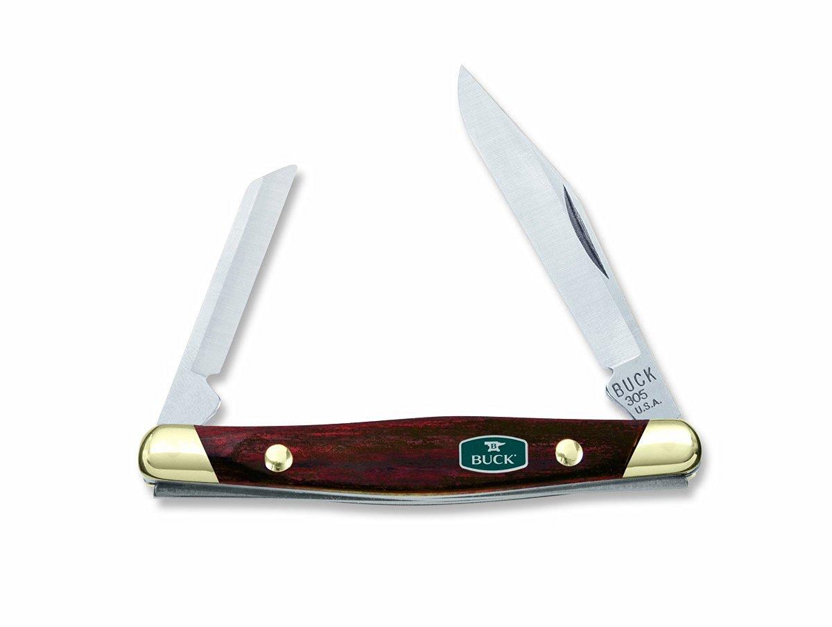Buck Knives 305 Lancer Dual 2 Blade Folding Pocket Knife