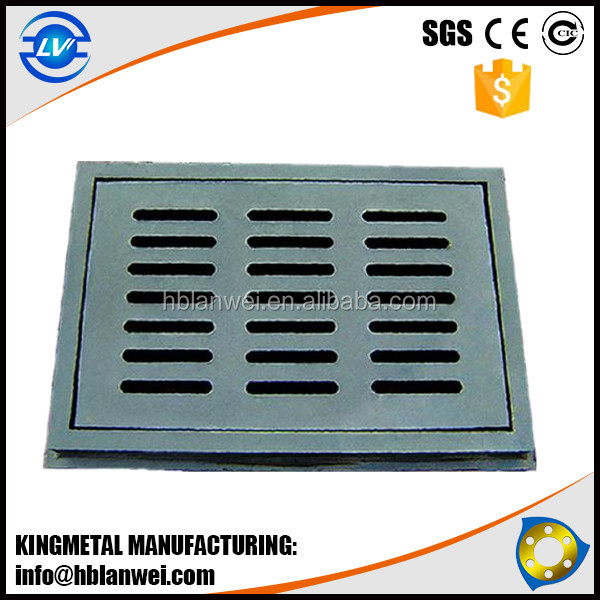 EN124 Cast Iron Water Grate Manhole Cover