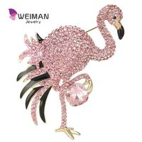 Bird shape standing bird custom logo charm female brooch pin jewelry,animal shape brooch