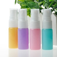 Travel empty 10ml glass painted pink blue orange purple colourful perfume bottle mist spray atomiser