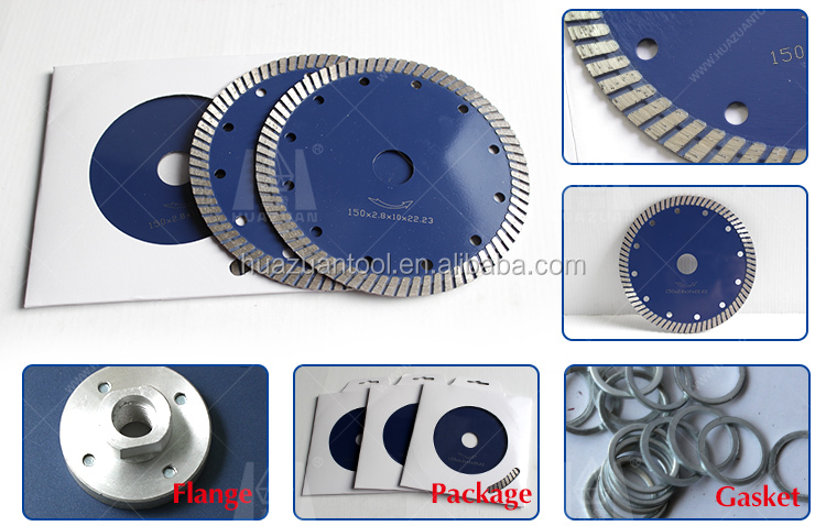 Angle Grinder Turbo Type Sintered Saw Blade
