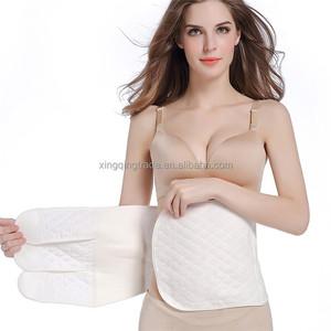 f4d836c3bd Women Body Shaper abdomen withpostpartum beam belly cotton gauze waist belt  waist down body with body