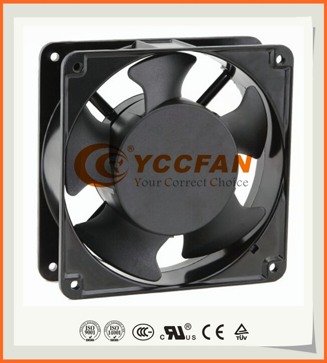 Standard YCCFAN 12038 Mini 120x120 Small Exhaust Axial Flow 120mm AC Cooling Fan 220V 230V 240V 120x120x38 mm