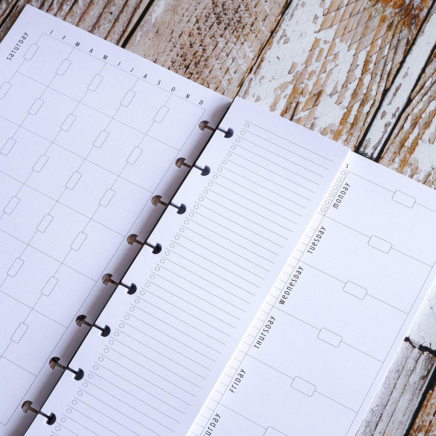 Planner Inserts Set for use with Mini Happy Planner | Awesome Planner Set | Monthly Weekly Daily