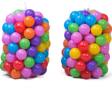 Wholesale White blue yellow clear black green orange bulk plastic ball pit balls toy ball for sale