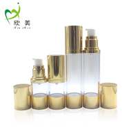 50ml Customized Round Airless Lotion Pump Bottles for Skin Care Products