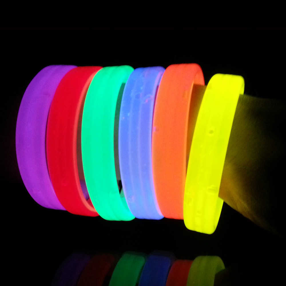 Glow In The Dark Wristbands For Events And Party Glowwristbands