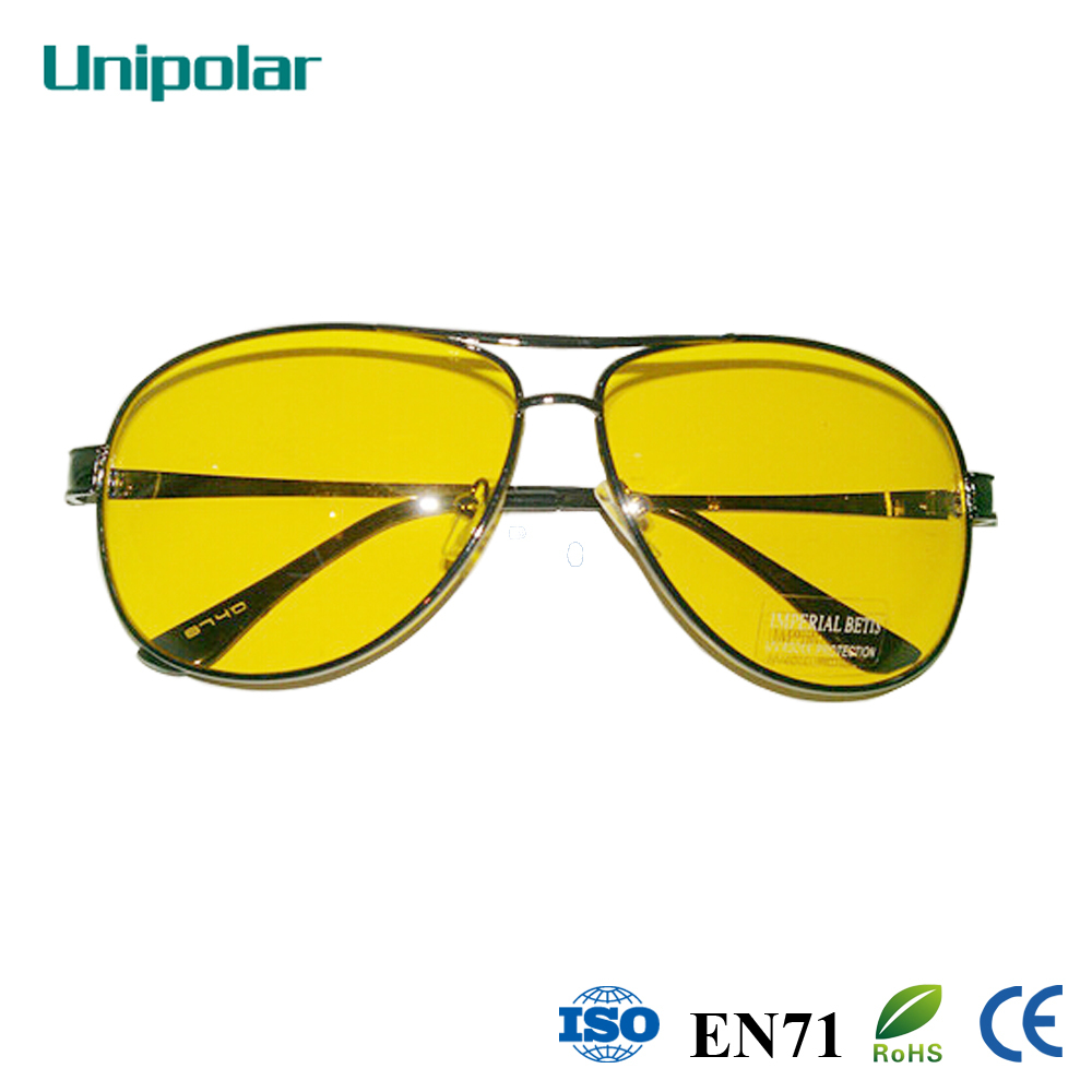 Night Driving Glasses Anti-Glare Clean Yellow Lens