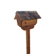 Wholesale factory price waterproof standing post box wood house mailbox