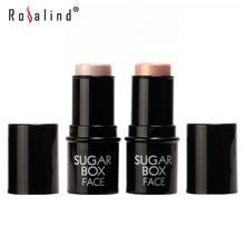 Rosalind 2015 Sugar box Highlighter stick All Over Shimmer Highlighting Powder Creamy Texture Water-proof Silver Shimmer Light
