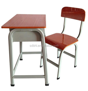 Student study table and chair Single desk and chair Kids table and chair