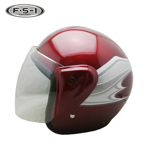 Affordable DOT approved African market crossing helmet open face helmets motorcycle arai