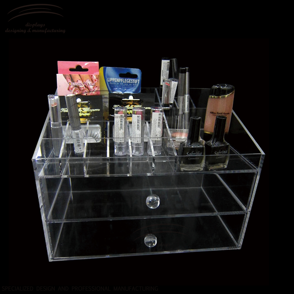 Weitu nail organizer nail polish display acrylic display acrylic make up organizer