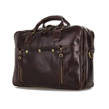 Latest JMD Very Stylish Real Leather Men Briefcase For Business 7201C