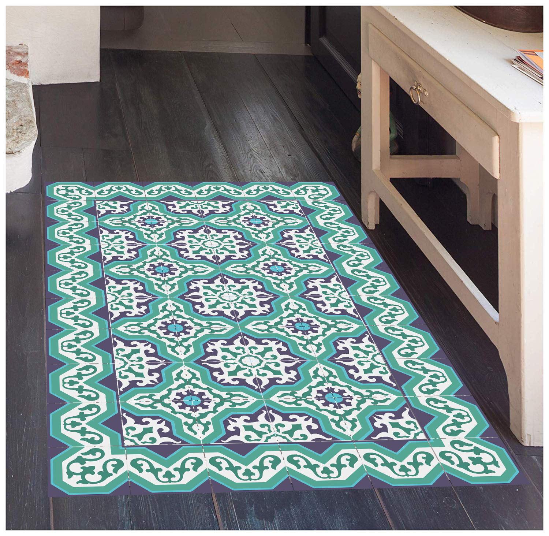 Pvc Print Kitchen Floor Runner Rug