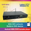 27850 Vietnamese&English songs include 4TB HDD +All-in-one Android KTV DVD Jukebox Karaoke Player with 1080P,build in AGC
