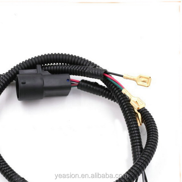 Factory customized automotive headlight wiring harness cable_640x640xz buy cheap china cable wire harness products, find china cable wire Custom Wire Harness Sleeves at soozxer.org