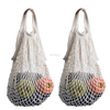 Fashion Women Tote Reusable Cotton Net Mesh String Shopping Bag Fruit Storage Bag