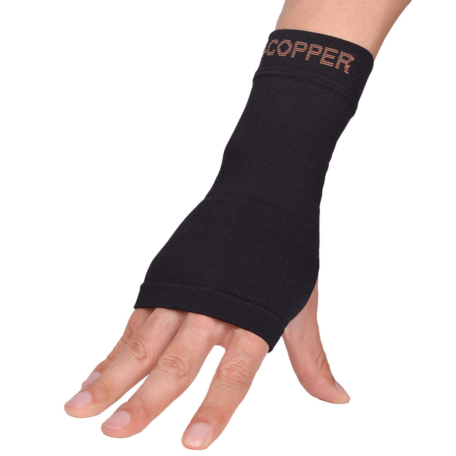 bcf183c1b9 Get Quotations · New Thx4 Copper Wrist Support -Copper Infused Compression  Wrist Brace Sleeve-Relief for Carpal