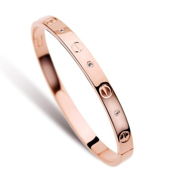 Rose Gold Plated Top Quality Best Ing Elegant Design 18k Bracelets For Men Ywh2175