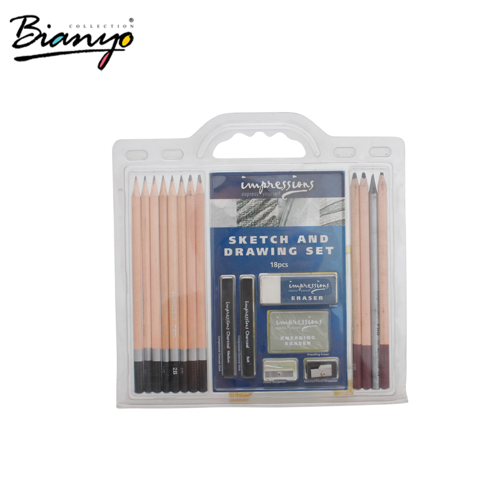 Amazon Best Seller Art 18-piece Professional Artist Sketch Set