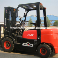 2Ton Counterbalance Chinese diesel Forklift Trucks