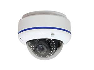 """IC Realtime EL-470 Indoor/Outdoor I-Sniper PIXIM Full-Size IR Dome Camera, PIXIM 1/3"""" High Sensitivity Digital Sensor, Effective Pixels 768(H)x540(V), 2.8mm-12mm Varifocal Auto Iris Lens"""