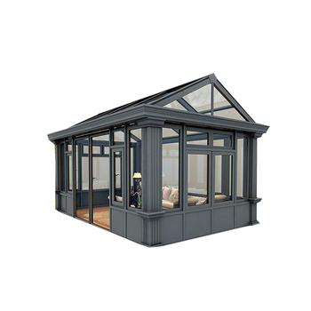 Vidrio Templado De Techo De Aluminio Sala De Sol Terraza Vidrio Casa Shanghai Precio De Fábrica Jardín De Invierno De Efecto Invernadero Buy Vidrio